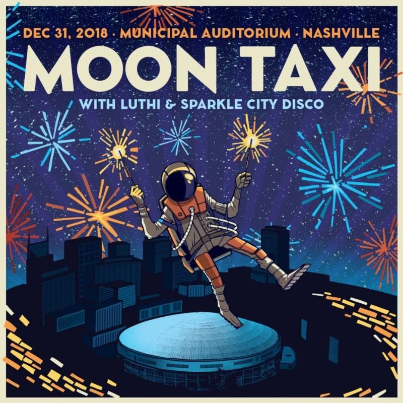 Moon Taxi Announces New Year's Eve Show at Nashville's