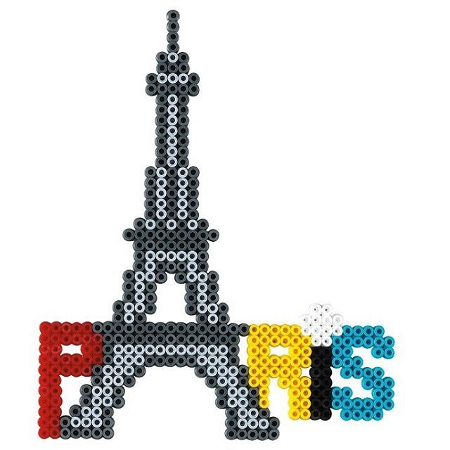 paris hama beads hama giant set 3038 perler bead ideas. Black Bedroom Furniture Sets. Home Design Ideas