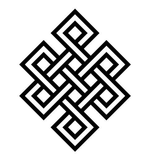 Dopatonin The Endless Knot One Of The Eight Sacred Emblems Of