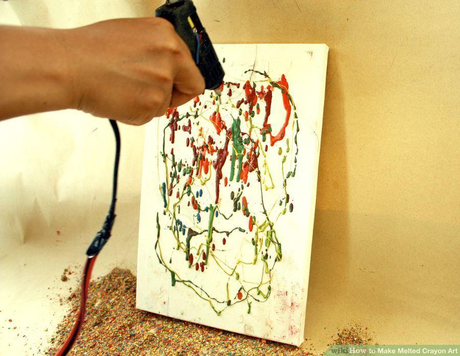 Mum Boya Ile Kanvas Tablo Nasıl Yapılır çocuk Etkinlikleri