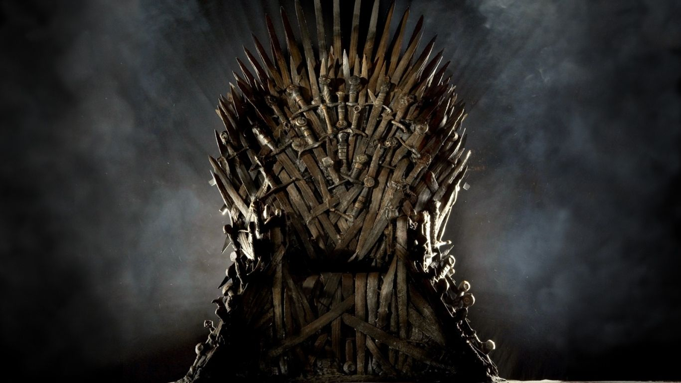1366x768 Wallpaper Game Of Thrones Series Throne Power Sword