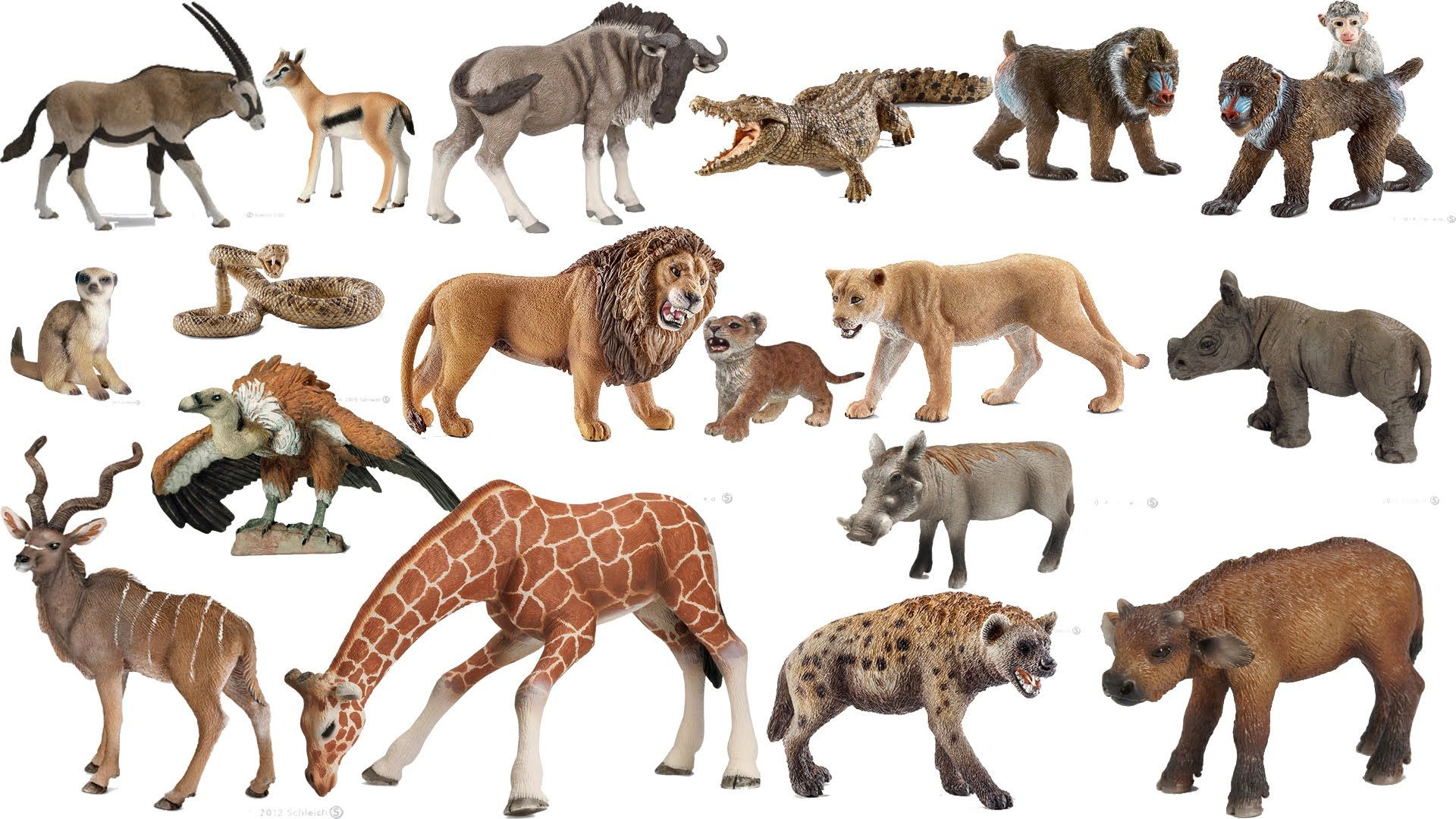 Pin on Schleich animals