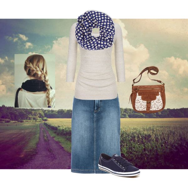^A Navy Blue Walk!^ by lars0901 on Polyvore featuring NYDJ, Keds and Wet Seal