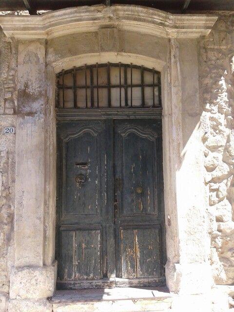 Wooden door, Provence