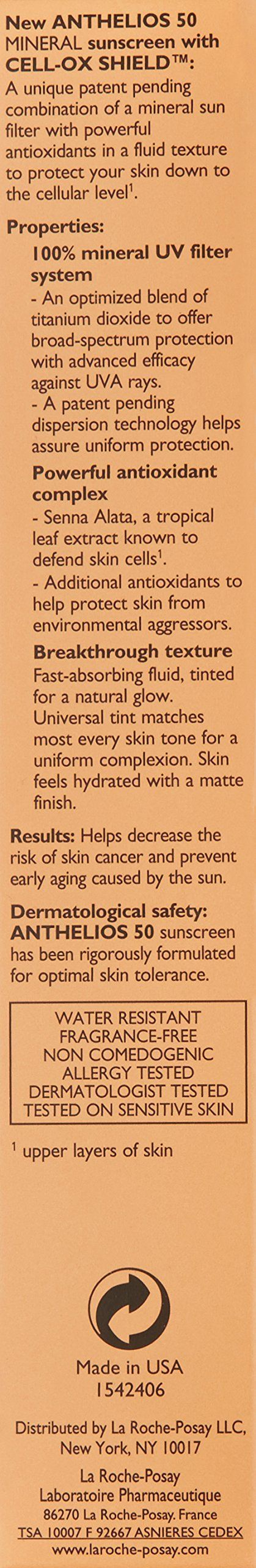 La Rocheposay Anthelios 50 Tinted Mineral Sunscreen Spf 50