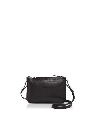 a142bf1a7a LONGCHAMP Le Foulonne Double Zip Small Leather Crossbody. #longchamp #bags #shoulder  bags #leather #crossbody #