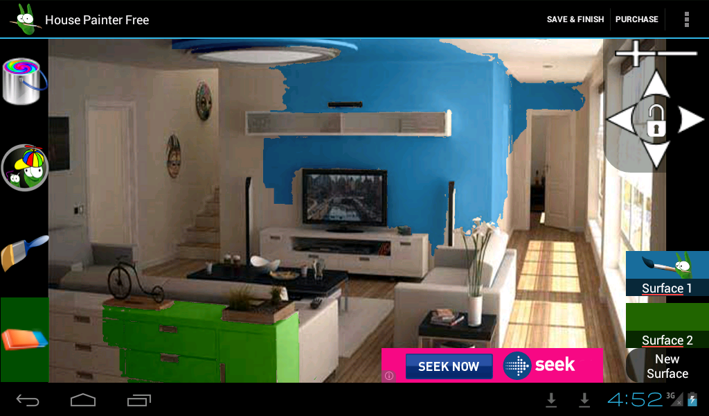 House Painter Free Demo Android Apps On Google Play In House Painting Demo Paint Your House Interior Design Apps Home Design Software