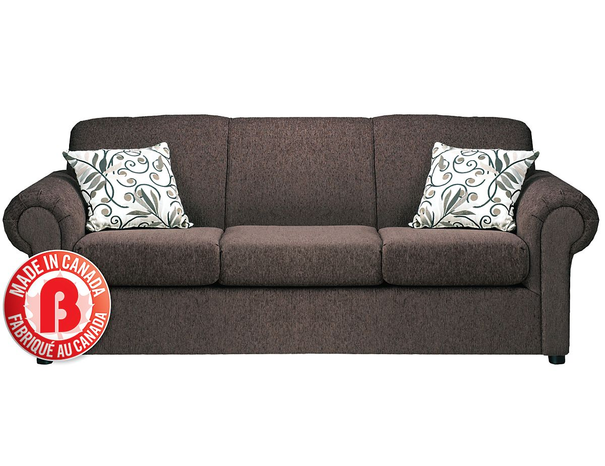 Microsuede Sofa Canada Baci Living Room