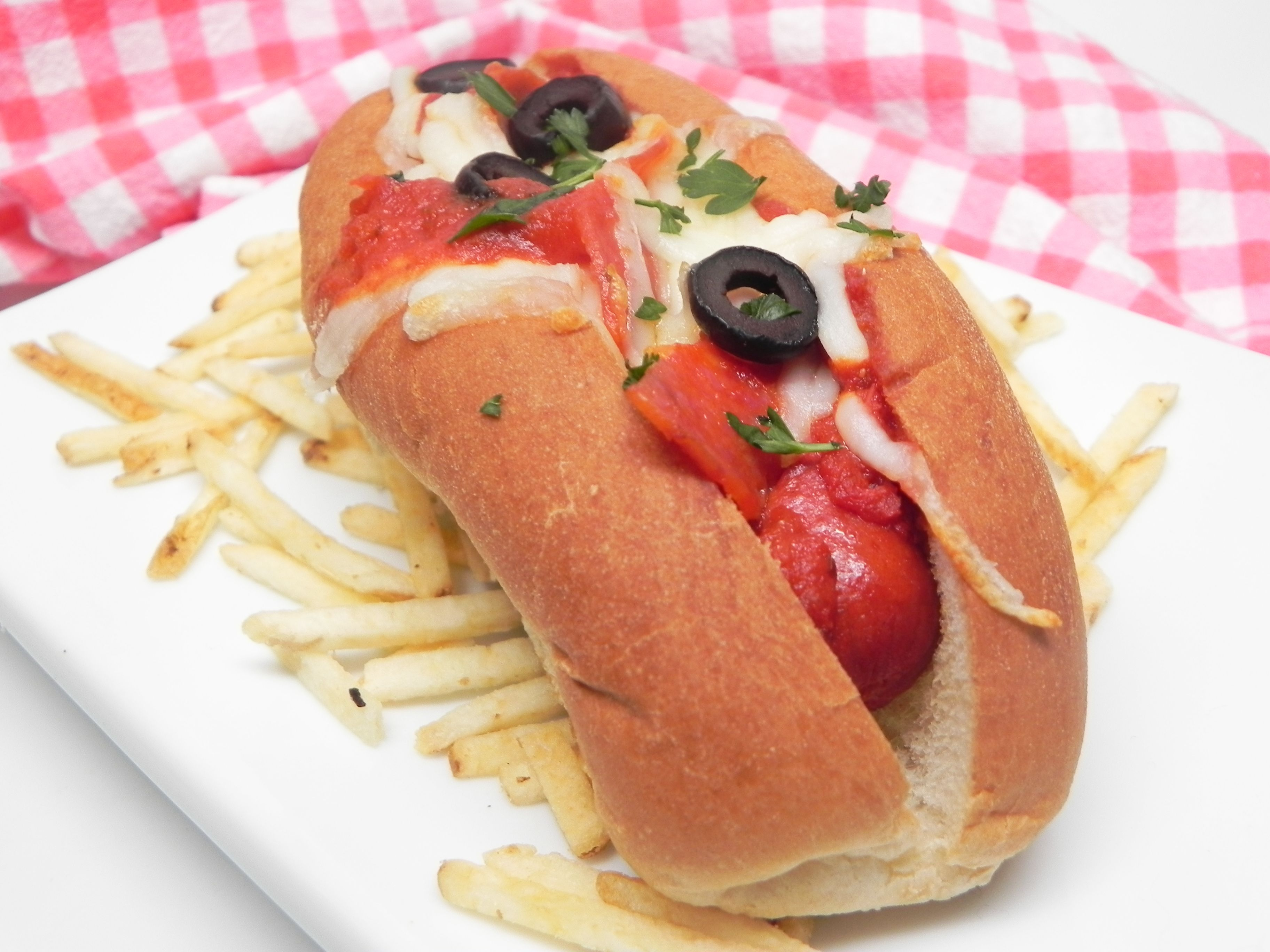 Air Fryer Pizza Dogs Recipe Dog recipes, Recipes, Hot