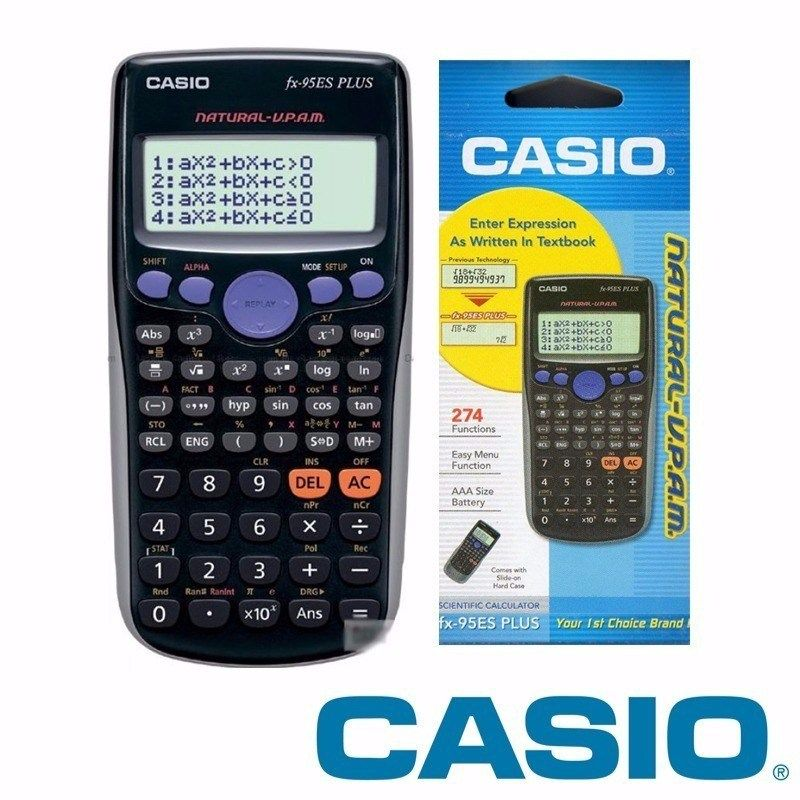 146c27683aab Calculadora Casio FX 95 ES Plus