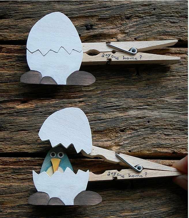 Easy Easter Craft Ideas For Kids Part - 38: Clever Clothespin Craft Ideas