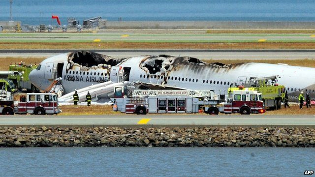 You know BBC is desperate when they quote multiple twitter accounts for information. Hope everyone out there is ok 7/6/13   BBC News - Boeing 777 plane crash-lands at San Francisco airport