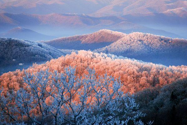 Blue Ridge Mountains - Amy White