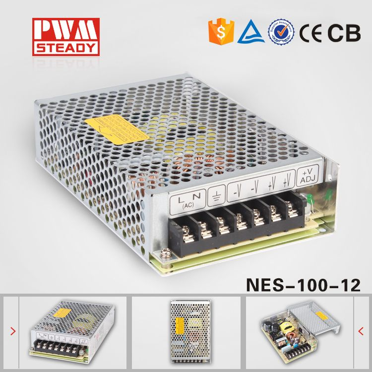 NES-100-12) wide range Switching power supply single output 100W ...