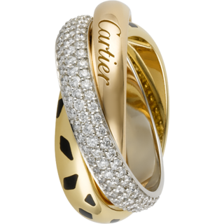 cartier trinity ring price list