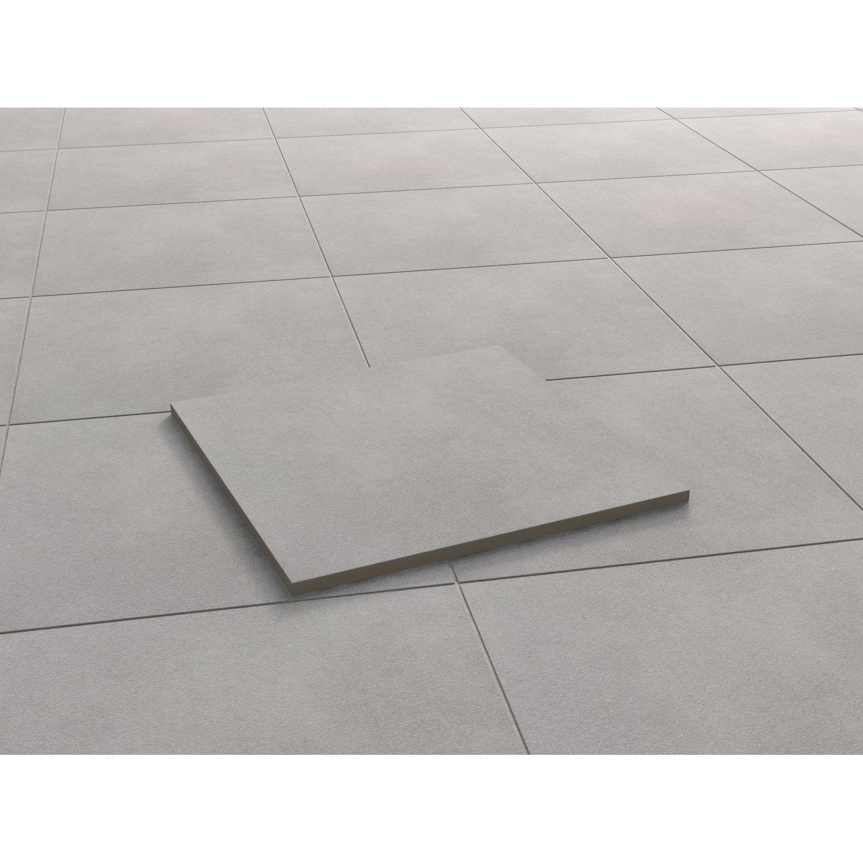 Terrassenplatte Feinsteinzeug Streetline Grau 90 Cm X 60 Cm