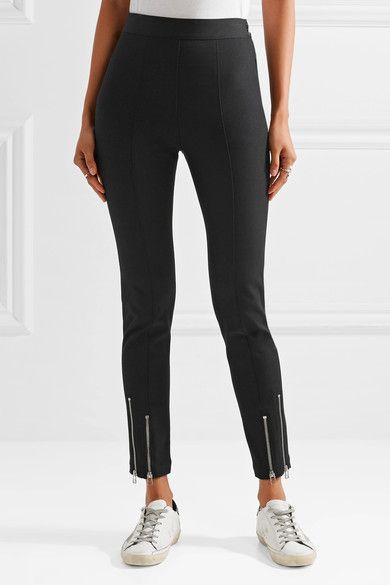 T by Alexander Wang - Stretch-twill tapered pants