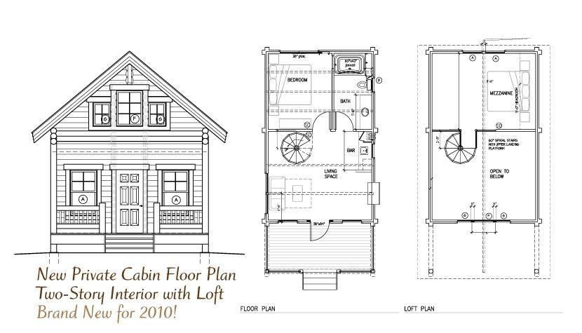 Cozy Cabin Floor Plans With Loft Inspirations In 2020 Cabin Floor Plans Small Cabin Plans Cabin Floor