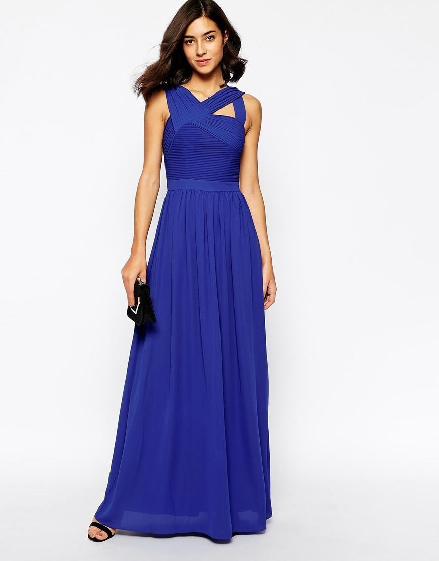 Warehouse | Warehouse Pleated Maxi Dress at ASOS | I want to buy non ...