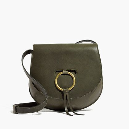 Madewell - The Lisbon O-Ring Saddlebag in Leather