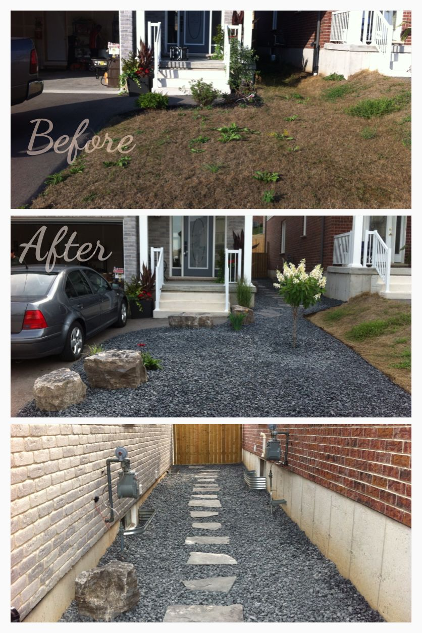 Low Maintenance Front And Side Yard. Great For A Small