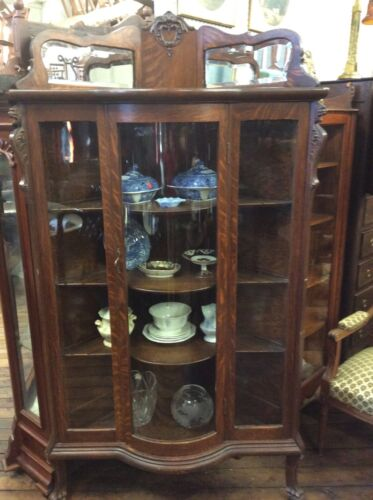 """Details about Oak Corner China 75"""" Tall in 2020"""