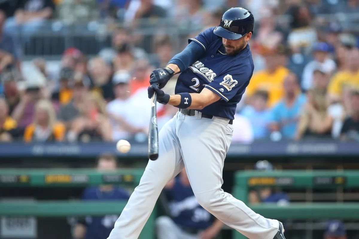 Pin by Greg Gehrig on Travis Shaw Milwaukee brewers