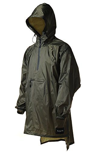 4ucycling Light Weight Easy Carry Wind Raincoat and Outdoor Rain ...