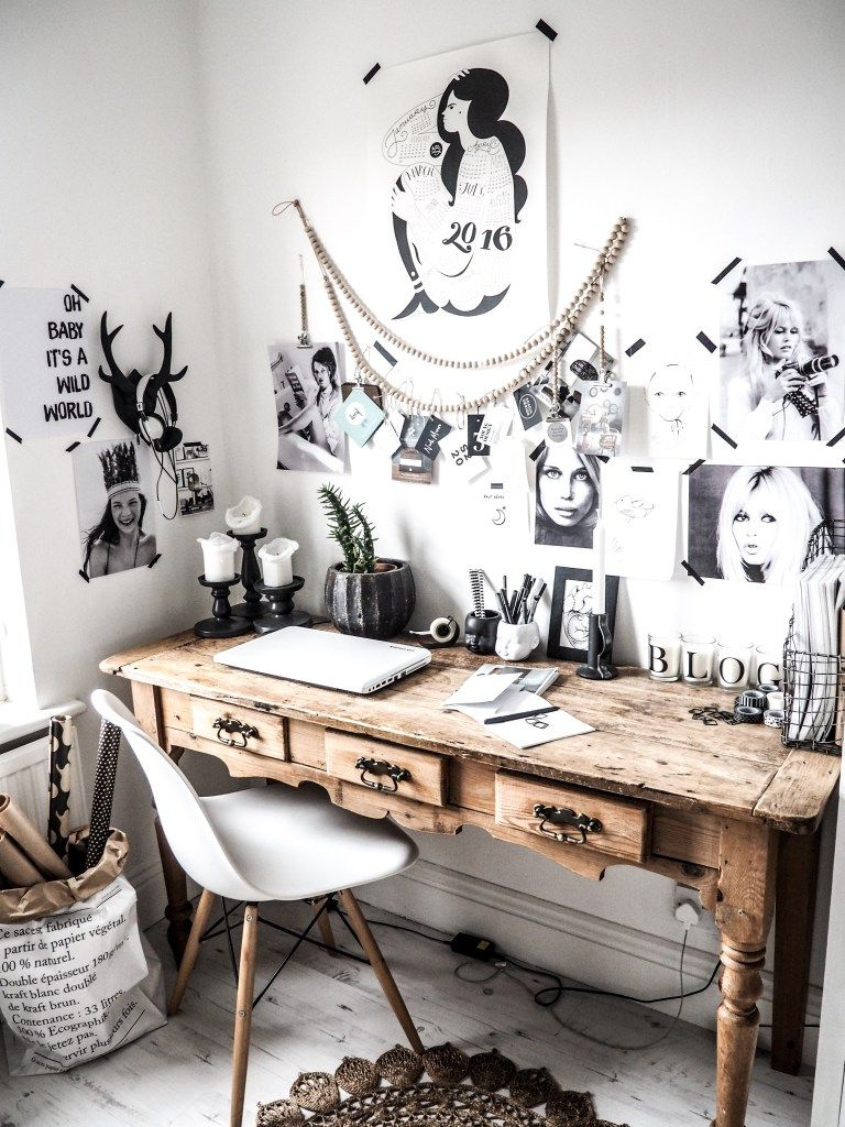 Cozy workspaces home offices with a rustic touch u decoist in