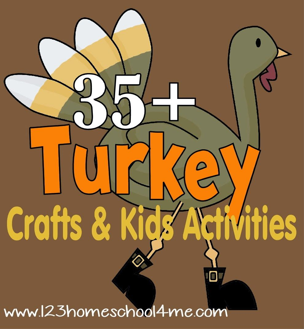 Turkey Craft Ideas For Kids Part - 38: 35 Turkey Crafts U0026 Kids Activities For Thanksgiving (Living Life  Intentionally)