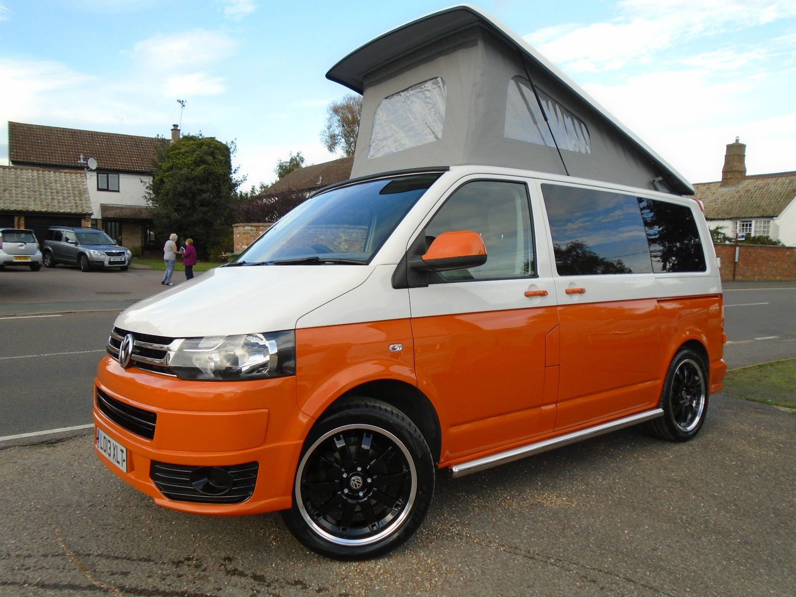 2013 Volkswagen Transporter T5 A C 102ps Brand New Retro Camper Van Conversion