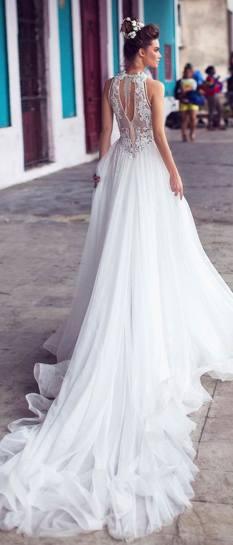 Lorenzo Rossi wedding dress 2018