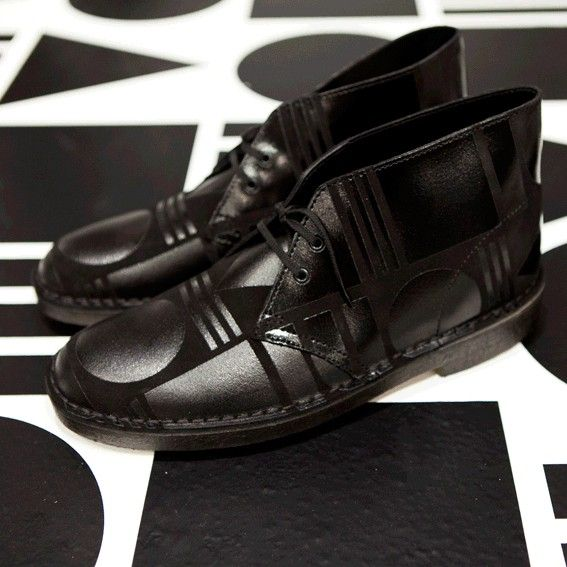 Patternity x Clark's shoes collab #geometry #pattern #shoes