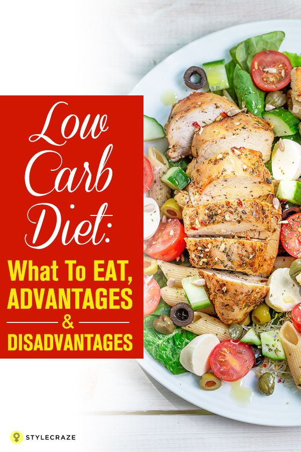Low Carb Diet What To Eat, Advantages, And Disadvantages