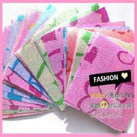 Pack of Paper Squares for Paper Cranes, Collage or Scrapbooking Heart 25pcs/pack #wholeport #pintowin