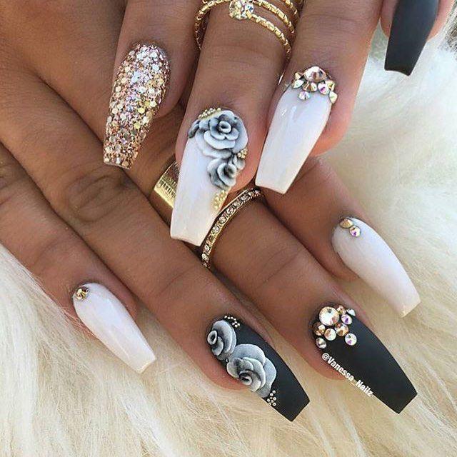 https://www.instagram.com/p/BL6lx6WgLpl/ | Nail design | Pinterest ...