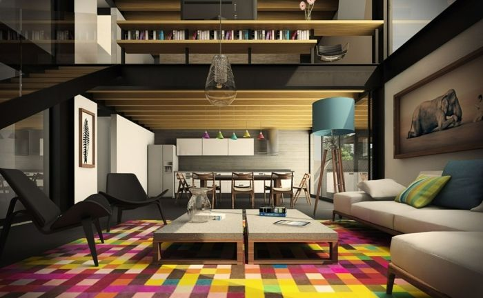 Aménager son salon - 80 idées créatives! - Archzinefr Salons