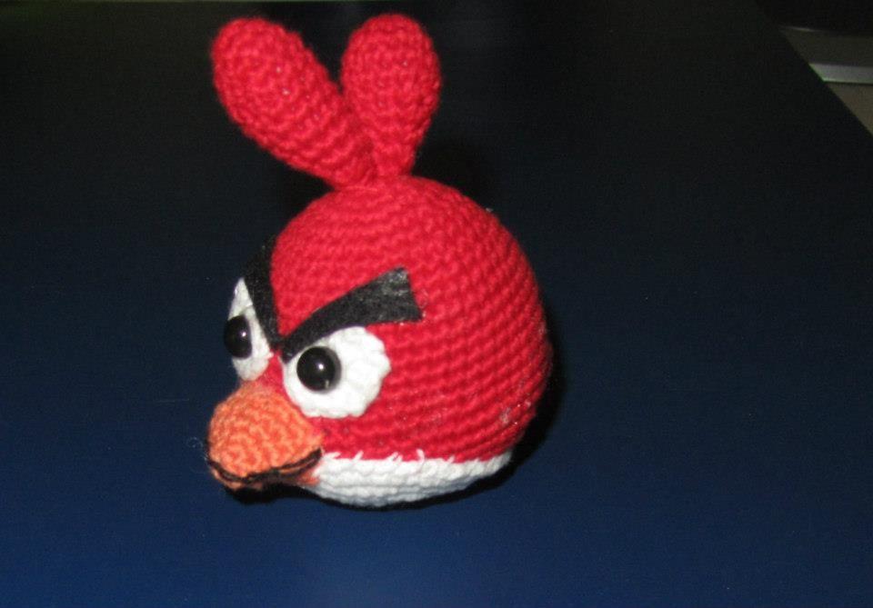 Tutorial Amigurumi Angry Bird : Agry bird amarillo knitting amigurumi crochet