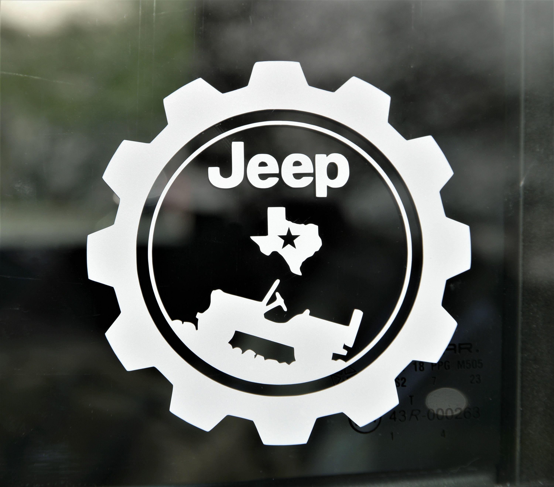 Jeep Wrangler Texas Style Off Road 4 X 4 Customized Logo Premium