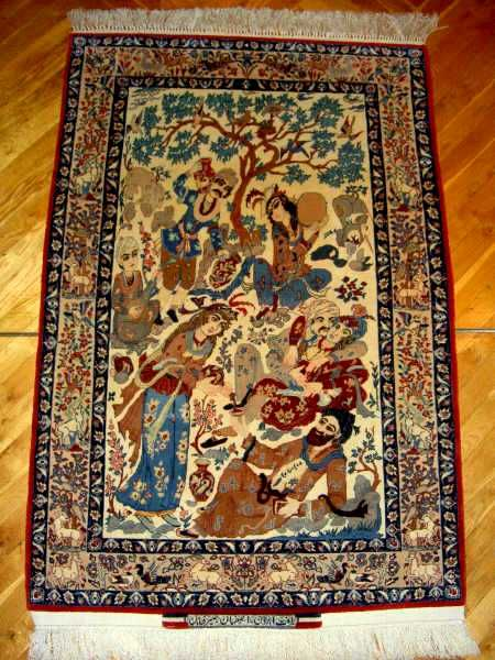 Isfahan Rugs: The Hassan Seirafian Pictorial Rug