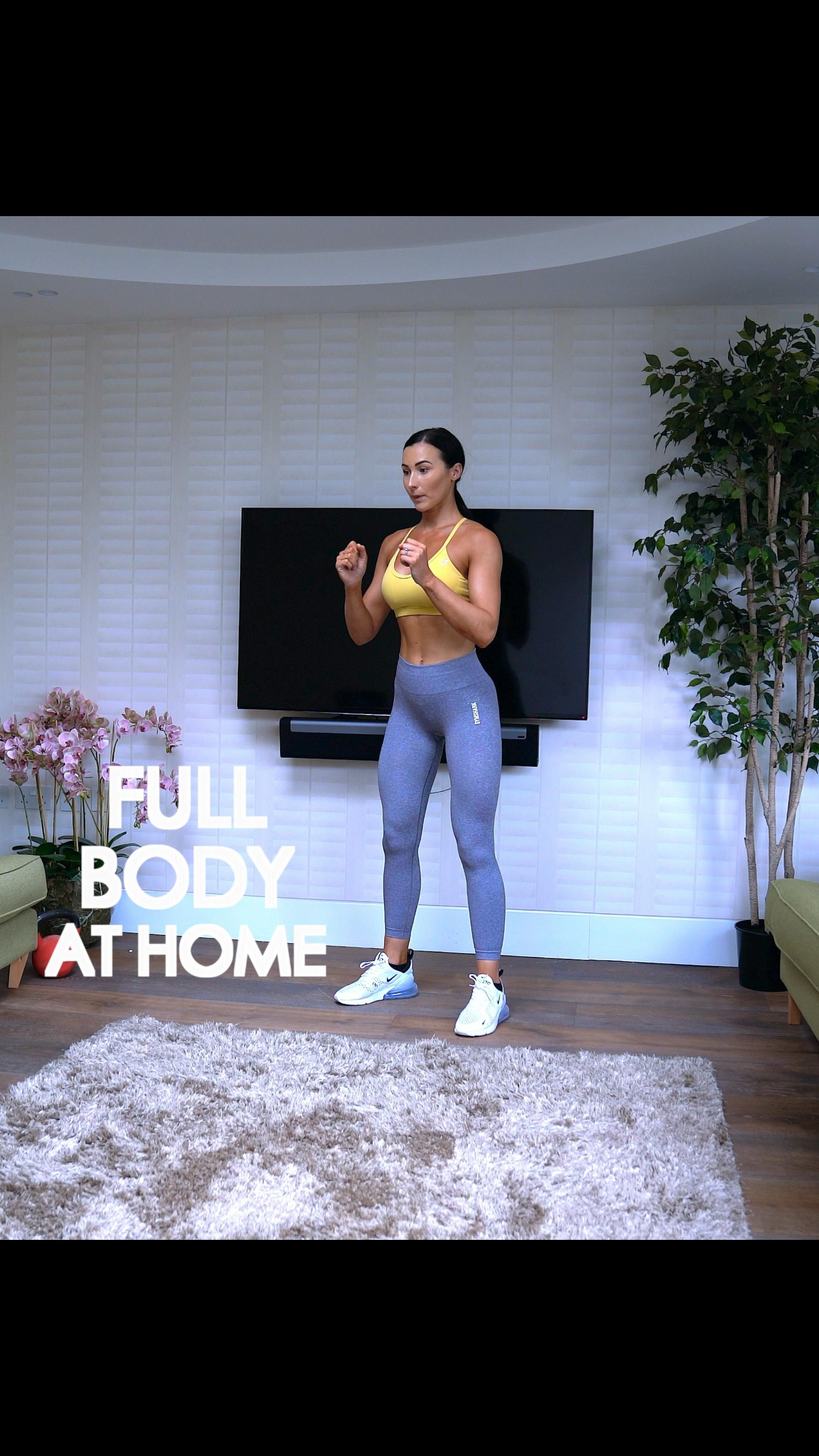 Full body workout at home   StrongandSxy