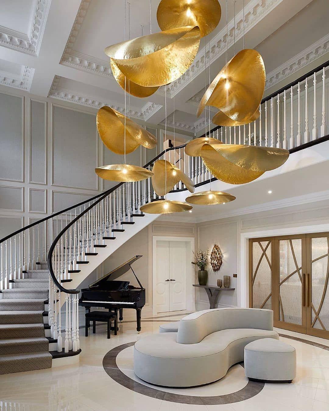 Luxuryinterior Design Ideas: Um Hall Nico! . Lumin Rias Gervasoni Em Projeto De