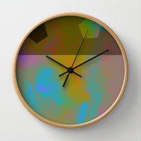 Wall Clocks by Latidra Washington | Page 2 of 6 | Society6 #art #design #abstract #society6