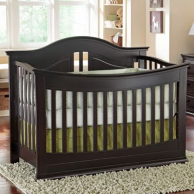 Rockland Austin Convertible Crib - Espresso  found at @JCPenney