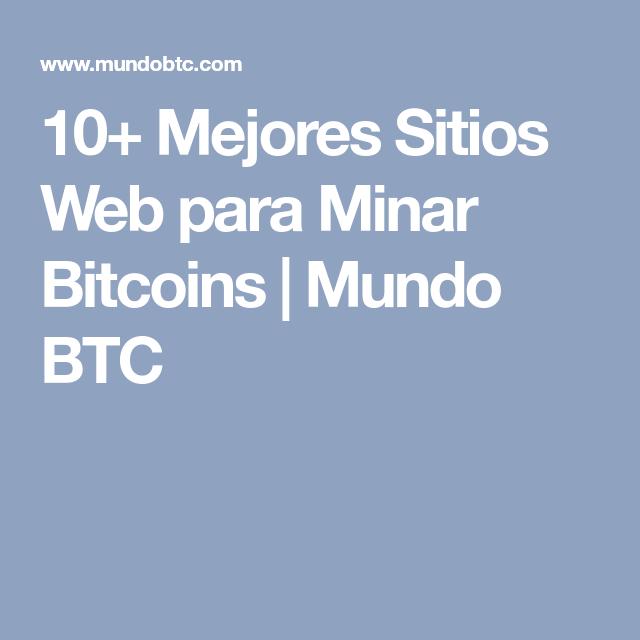 Paginas para minar bitcoins for dummies apr 1 config binary options