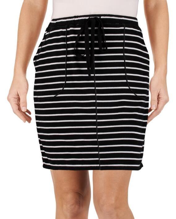Striped Short Skirt