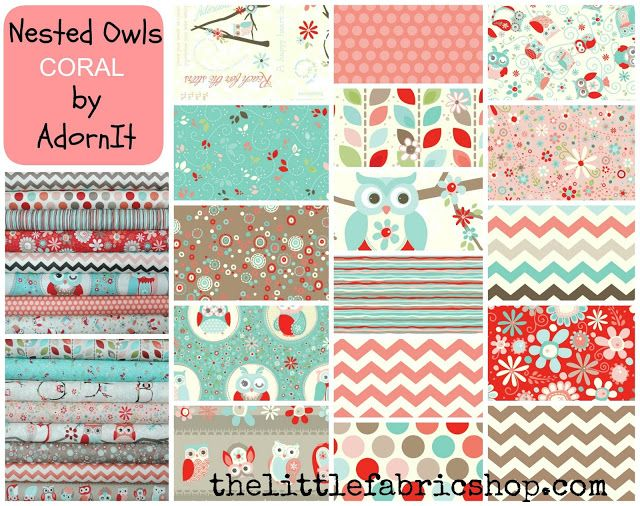 The Little Fabric Blog~ LOVE THE FABRIC THEY HAVE!