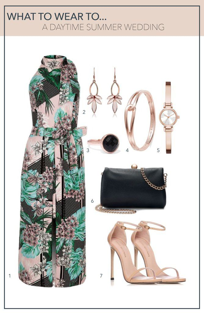 78ecaeee2b This green floral maxi dress would be perfect for a daytime summer wedding