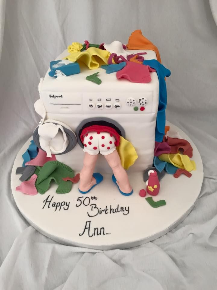Washing Machine Cake Pralka Birthday Cake Birthday