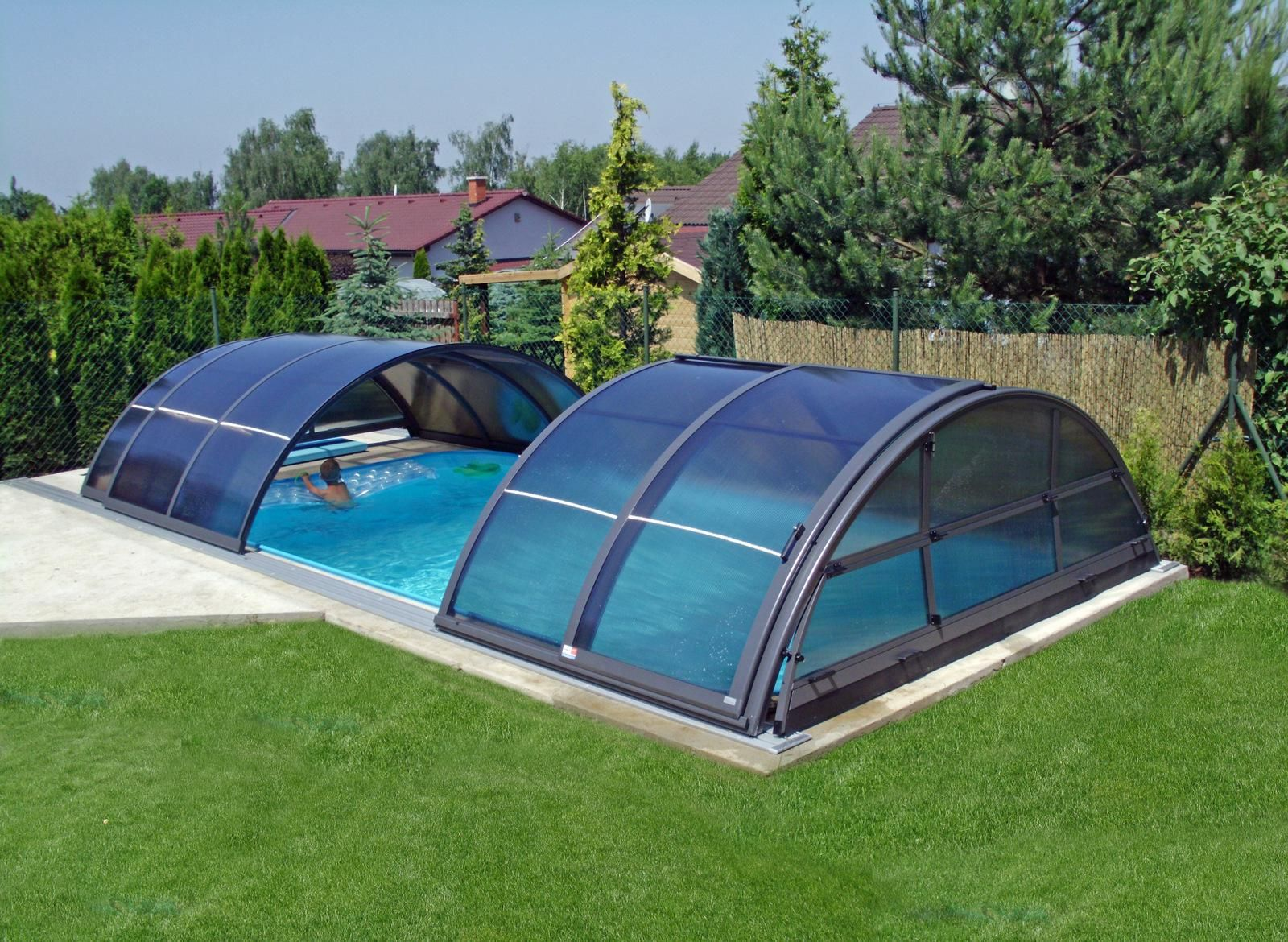 Swiming Pools Titanium Cool Pool Cover With Automated Pool Cover ...